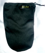 Black Wicking Fabric   banana peelz bags